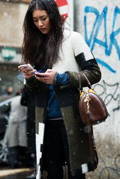 pretty + winter + coat