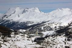 Sestriere Italian Alps Italy mountain landscape photograph picture print photo