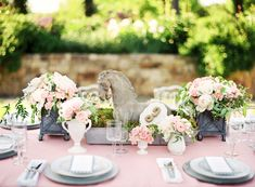 Southern Kentucky Derby-inspired tablescape.