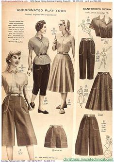 Fifties Fashion, Retro Fashion, Vintage Fashion, Vintage Pants, Vintage Outfits, 1950s Women, Costume, Mode Vintage, Classic Outfits