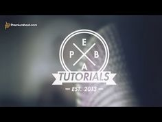 Video Tutorial: Hipster Logos & Badges in After Effects - YouTube