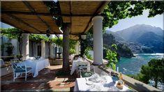 mediterrán terasz - Luxuslakások és házak