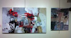 exhibition of paintings by Claire Merigeau from March 18 to April 1, 2012 to Clemangis gallery Chalons en Champagne