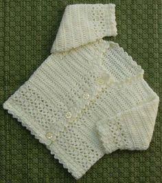Ravelry: Babies Cardigan Patt No.222 pattern by Kay Jones