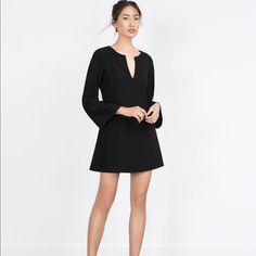ZARA black dress OFFERS & QUESTIONS WELCOME Zara Dresses Long Sleeve