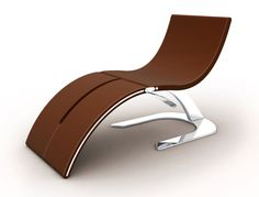 The Hypnosis chair by Belarusian designer Igor Solovyov which can be transformed into chaise longue. Designed in collaboration with Dzmitry Samal.