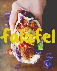 Paris-style falafel // The Kitchy Kitchen--based on L'As du Falafel in Paris. The original is pretty great--can't wait to see if this one holds up!