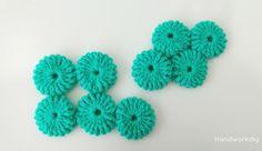 Cómo unir flores yoyo crochet Image