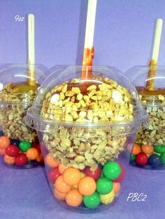 Candy Apple Holders- Lrg 9oz Cup for full size candy apples on Etsy, $7.00