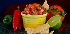 Why not mix herbs and heat? Here's a tasty salsa with a kick ;)
