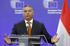 Hungary's controversial prime minister Viktor Orban (pictured) has called for…