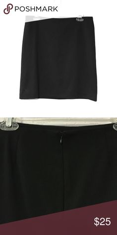 Selling this Very comfortable black knee length pencil skirt on Poshmark! My username is: katiebat. #shopmycloset #poshmark #fashion #shopping #style #forsale #New York & Company #Dresses & Skirts