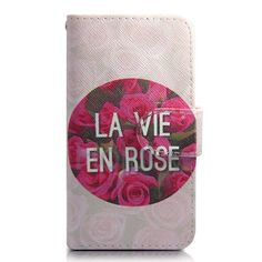 Wallet Style Magnetic Flip Stand TPU+PU Leather Case for Samsung Galaxy S4 I9500 with Card Slots(Red Rose)
