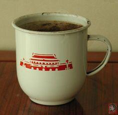Commemorative Enamel Cup