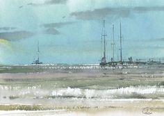 Sergey Temerev (watercolor painting)