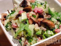 Stampot paksoi Great Recipes, Healthy Recipes, Healthy Meals, Cobb Salad, Potato Salad, Potatoes, Beef, Chicken, Ethnic Recipes