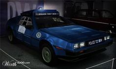 TARDIS-DeLorean!! @Kate Hughes I found your next car!!