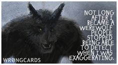 werewolves exaggerate