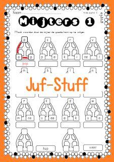 Werkbladen groep 3 leesmijtertjes Teacher Hacks, Letters, Teaching, School, November, November Born, Letter, Schools, Education