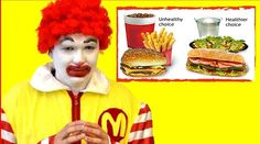 The irony! McDonald's advises their employees to avoid eating fast food!