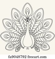 The abstract vector peacock. The abstract vector black peacock eps Peacock Outline, Peacock Drawing, Peacock Art, Peacock Design, Peacock Vector, Peacock Images, White Peacock, Feather Vector, Peacock Colors