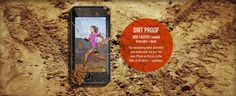 DIRT PROOF - RIDE FASTER | sealed from dirt + dust - The outstanding water protection also blocks dust and dirt. Use your iPhone on the job, in the field, at the beach - anywhere. Iphone 6, Seal, Water, Gripe Water, Harbor Seal