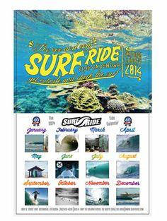 Surf Ride 2014 Tide Calendar #surfride #surfiswhatwedo | www.surfride.com