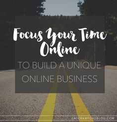 Why I'm Choosing To Focus My Time Online, In Order To Grow My... | Cat Crawford | Bloglovin'