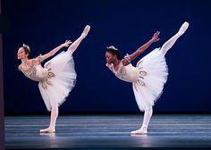Dutch National Ballet - Angela Agresti and Michaela DePrince in Balanchine's Diamonds