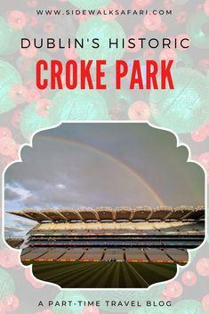 Visit Dublin and Tour Croke Park. Learn about Croke Park, Dublin's historic sports stadium. Dublin Travel, Ireland Travel, Paris Travel, County Cork Ireland, Dublin Ireland, Dublin Bay, Croke Park, Visit Dublin, Travel Around Europe