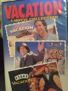 Vacation 3 Movie Collection National Lampoons 1983 European