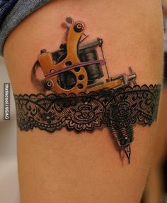Thats a realistic tattoo!