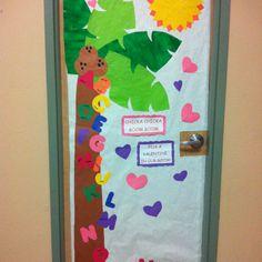 Classroom door for valentines day!