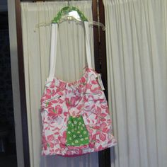 Reconstructed Recycled EcoFriendly Hobo Bag by GoodKharmaReThreads, $34.99
