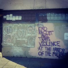 end racist and trans violence at the hands of the police