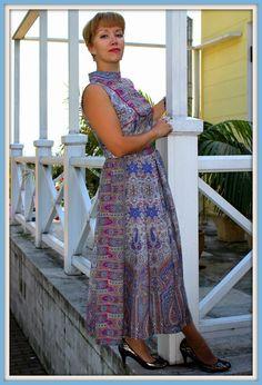 Платье без рукавов / Фотофорум / Burdastyle