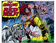 'All-New, All-Different Marvel' Spotlight: Meet Red Wolf - The Hollywood Reporter
