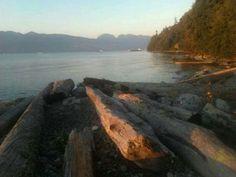 Wreck Beach. Vancouver BC