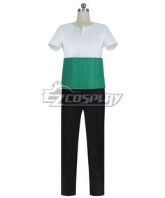 One Piece New World Zoro Green Outfit Halloween Cosplay Costume