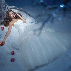 Alfred Angelo; Princess Snow White Wedding Dress