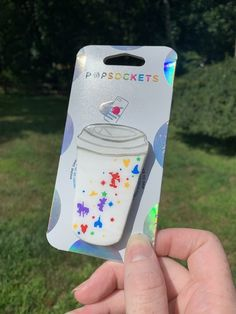 "Disney Coffee Mug Inspired ""Pop"" Cell Phone Grip/ Stand – HappiestStuffOnEarth Cell Phone Grip, Phone Grip And Stand, Cute Phone Cases, Iphone Cases, Disney Phone Cases, Tech Accessories, Cell Phone Accessories, Cute Popsockets, Pop Disney"