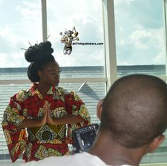"""All Things Ankara presents this weekend the All Things Ankara Fashion Week DC 2014: check out the """"BEHIND THE SCENES"""" Campaign Photo / Lookbook @NikkiBillieJean"""