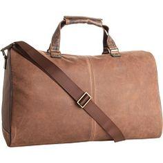 Boconi Leon leather duffle (also comes in camel)