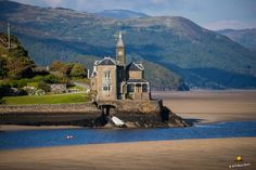 Barmouth in the Snowdonia national park.