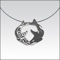 Killer whale necklace pendant - If anyone finds this, please let me know where. I want it.