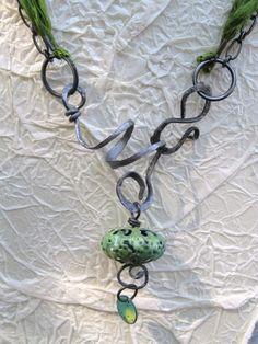 more Wire and Enamel by Lynnea Bennett  Lynnea is my favorite designer, love all of her stuff.