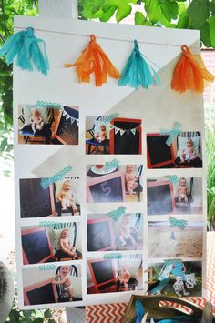 Tribal + Camping themed birthday party via Kara's Party Ideas KarasPartyIdeas.com Invitation, supplies, cake, desserts, tutorials, and more! #tribalparty #nativeamerican #campingparty #aztecparty #karaspartyideas (39)