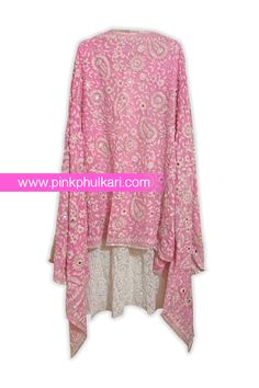 Handcrafted Phulkari Dupatta Shop Online in USA. Visit our website to Buy www.pinkphulkari.com Image©️PinkPhulkari California Desi Clothes, Punjabi Suits, Dress Designs, Scarfs, Designer Dresses, Shawl, Kimono Top, California, Bright