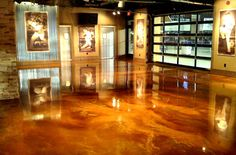 Metallic epoxy flooring is one of the hottest trends in decorative floor topping.