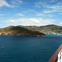 Carnival arrival in St. Thomas Photo by iambriand